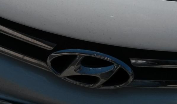 Hyundai угнали и сожгли.