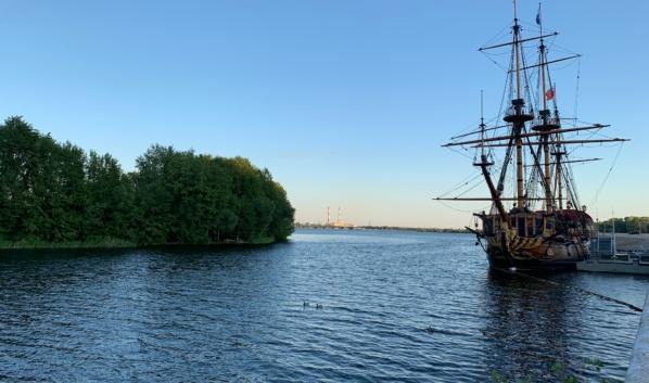 Парк появится на острове.