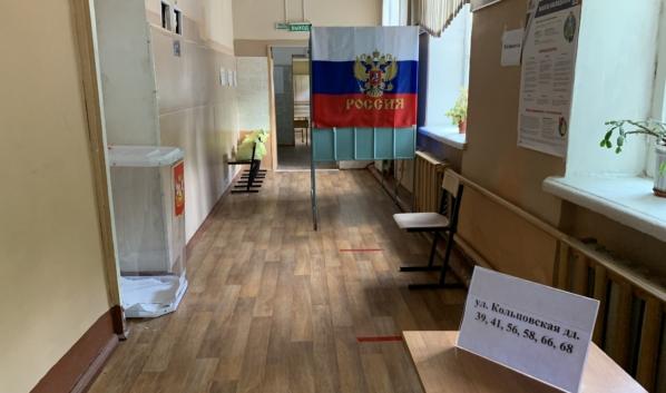 В Воронеже открылись избирательные участки.