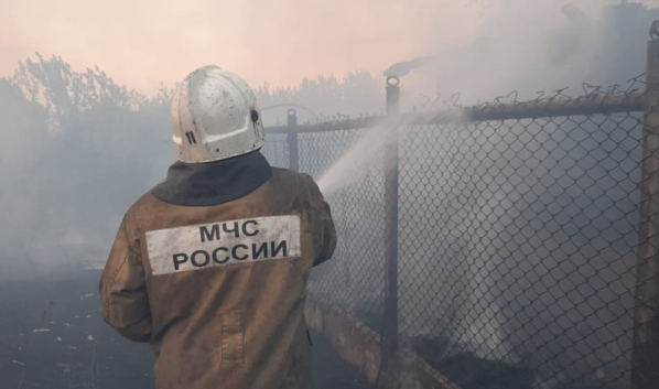 Пожар в Новоподлетном.
