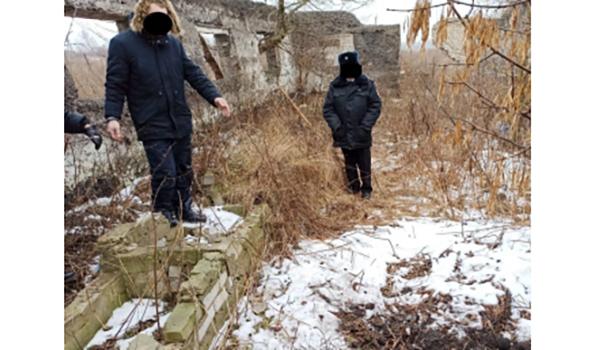Тело было закопано на заброшенной территории.