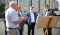 Вадим Кстенин провел выездное совещание в Железнодорожном районе.