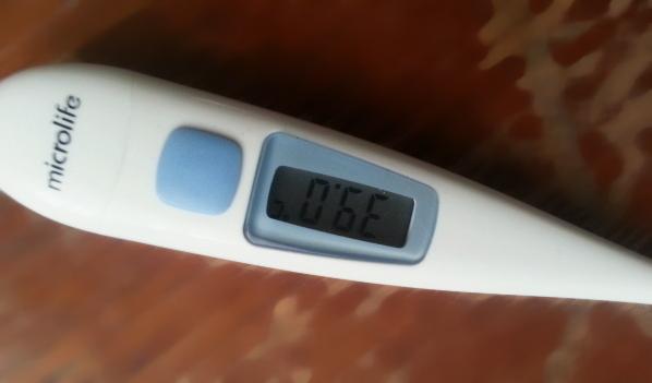 У детей была повышенная температура.