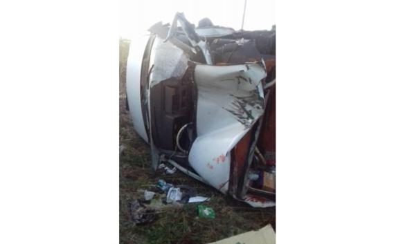 В аварии пострадали четырех человека.