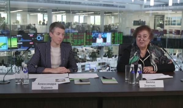 Александра Бурико и Белла Златкис.