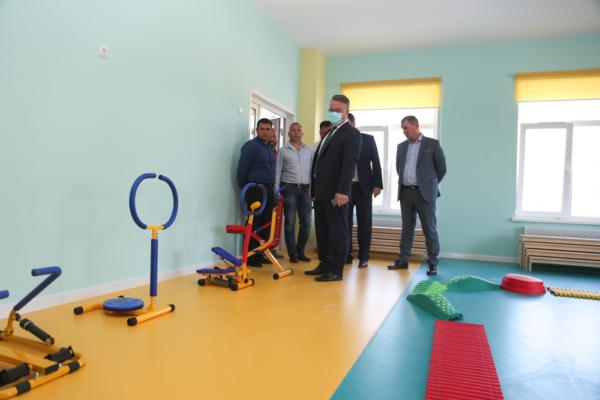 Вадим Кстенин оценил качество пристройки к детскому саду № 69.