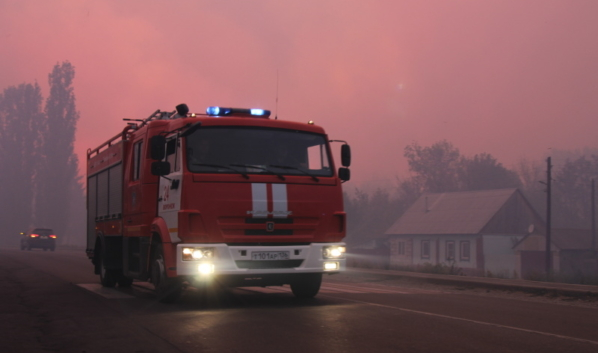 Пожар в Бобровском районе удалось локализовать.
