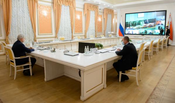 Александр Гусев выступил на заседании совета.