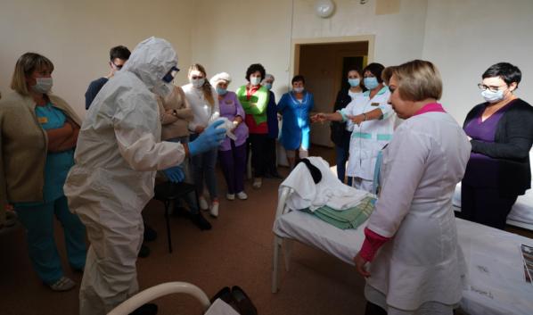 Новое отделение для ковидных больных откроется в БСМП №1.