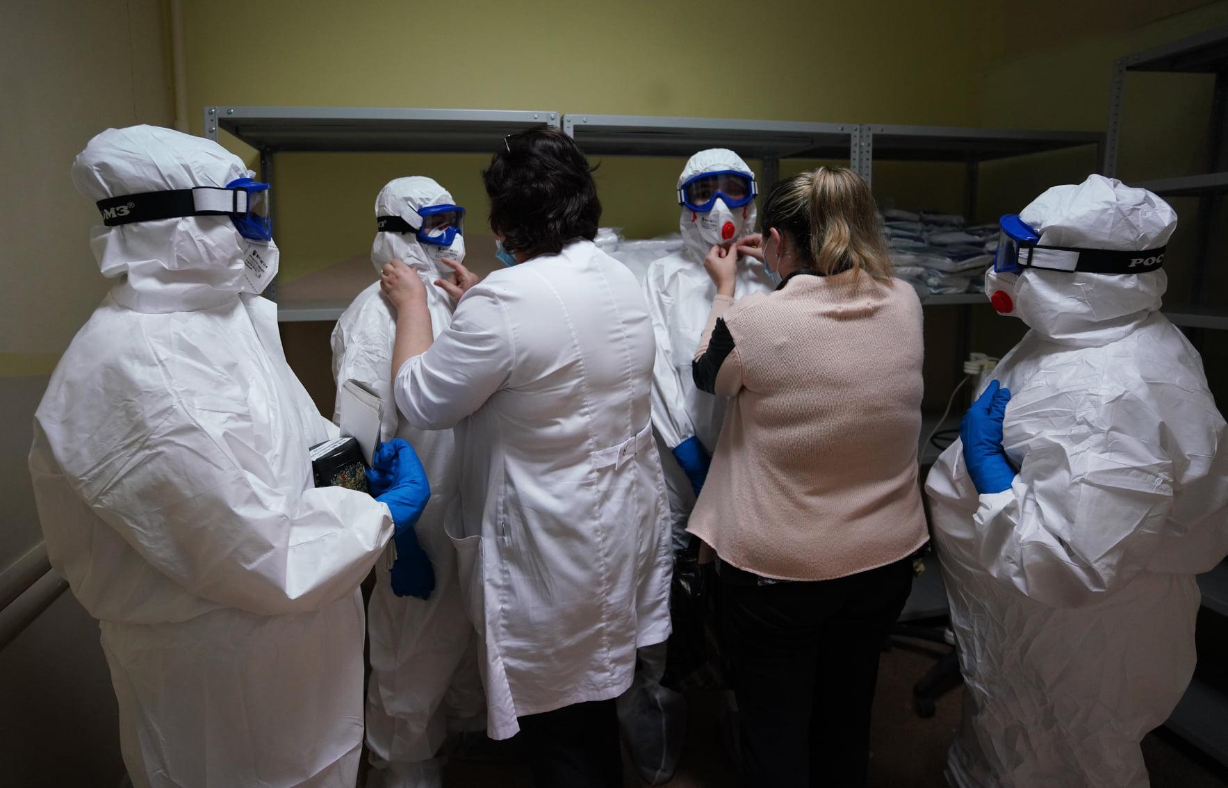 В БСМП развернули еще два отделения для пациентов с коронавирусом.