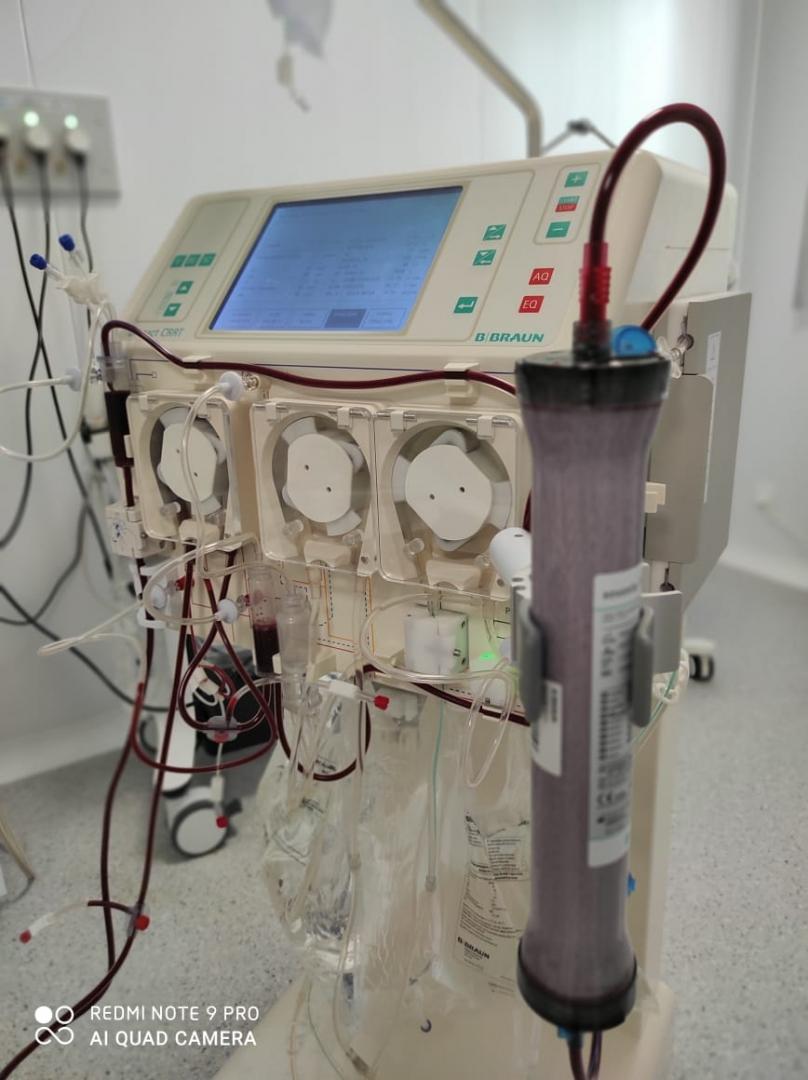 Пациентке с ковидом провели гемодиализ.