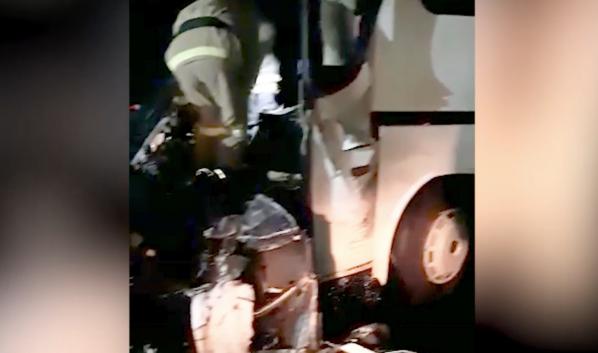 В автобусе есть пострадавшие.