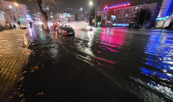 Плехановская превратилась в реку.