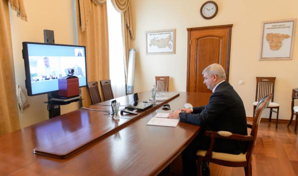 Александр Гусев провел переговоры с Александром Корчагиным.