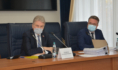 Заседание горДумы провели спикер Владимир Ходырев.