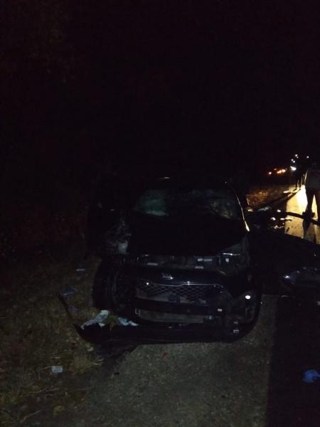 Авария в Каширском районе.