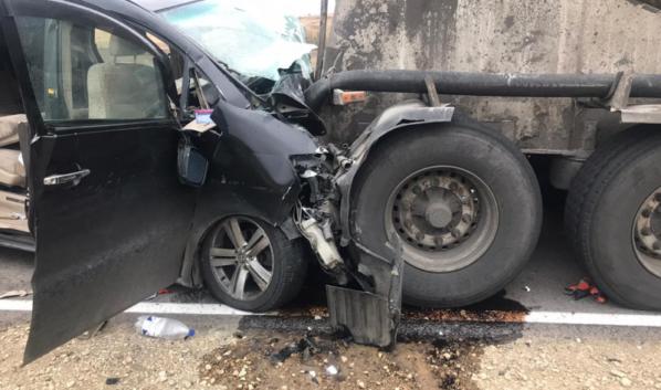 Авария в Воробьевском районе.