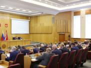 Третье заседание VII созыва Воронежской областной Думы.