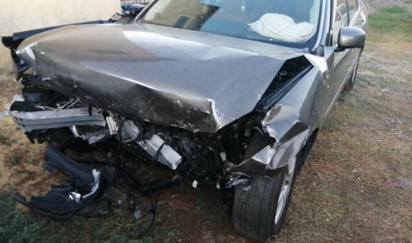 Водители пострадали в ДТП.
