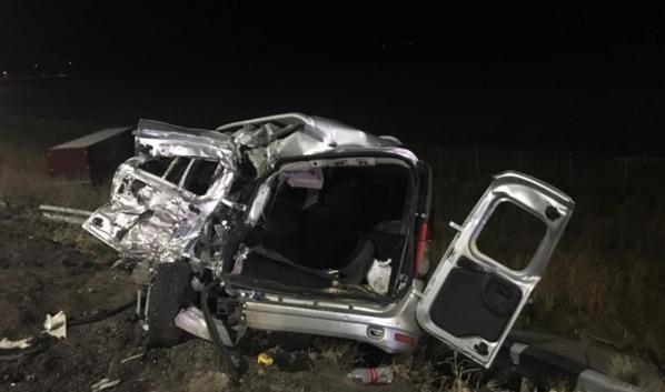 Двое пассажиров «Лады» пострадали.