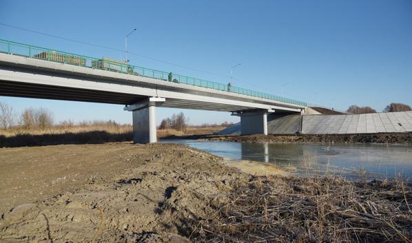 Мост через реку Савала.