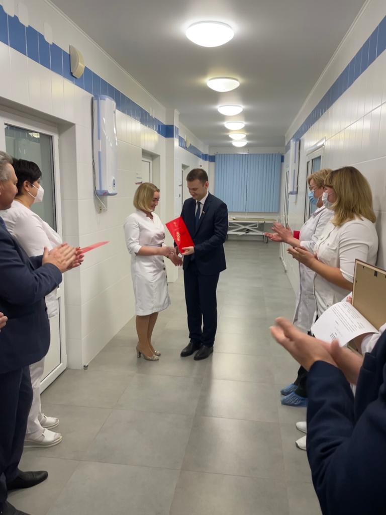 В Отрожке открылся ковид-госпиталь на 135 коек.