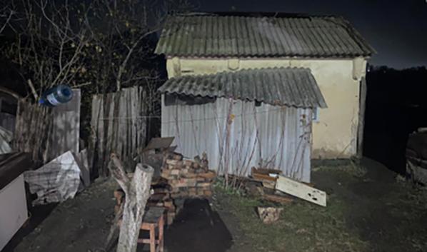 Двойное убийство произошло в этом доме.