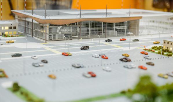 Губернатору представили макет будущего аэропорта «Воронеж».