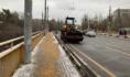 Воронеж расчищают от снега.