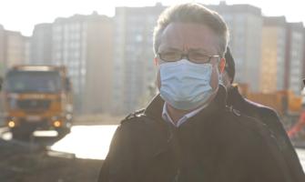 Вадим Кстенин проинспектировал реконструкцию дороги на Острогожской.