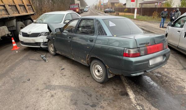 ДТП случилось в Новоусманском районе.