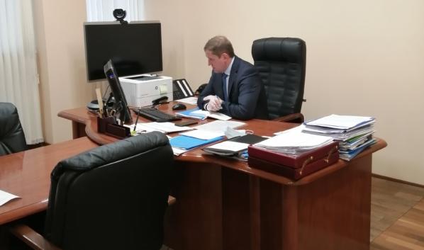 Андрей Соболев провел дистанционный прием граждан на площадке региональной общественной приемной «Единой России».
