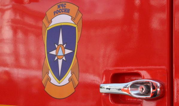 С огнем боролись 10 спасателей.