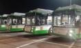 Вот эти автобусы выйдут на маршруты.