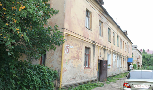 Дом №15 по переулку Здоровья.