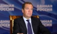 Дмитрий Медведев на расширенном заседании общественного совета партпроекта «Российское село».