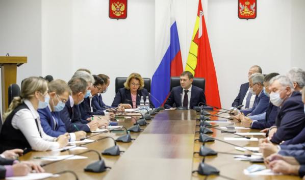 Заседание фракции «Единая Россия».