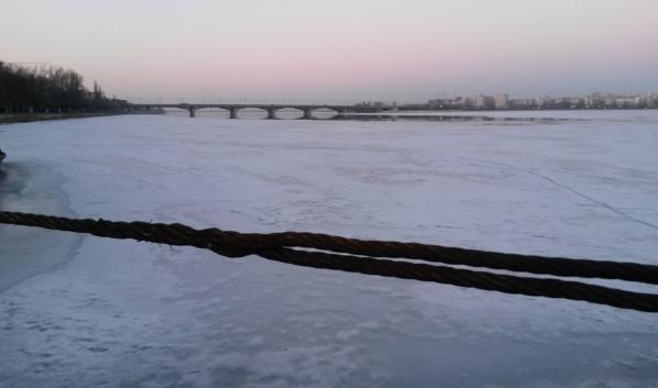 Воронежское водохранилище.