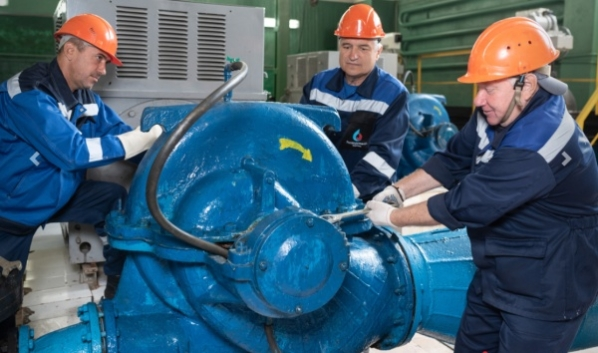 Пройдут работы на водоподъемной станции.