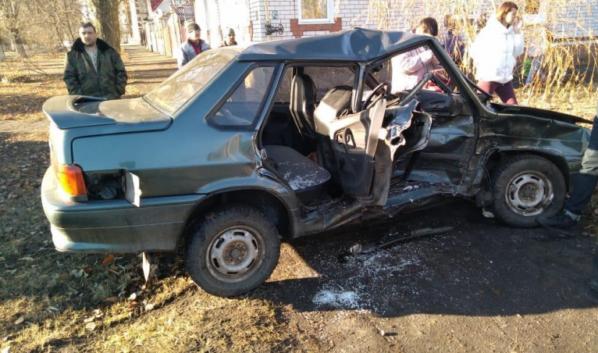 Авария в Борисоглебске.