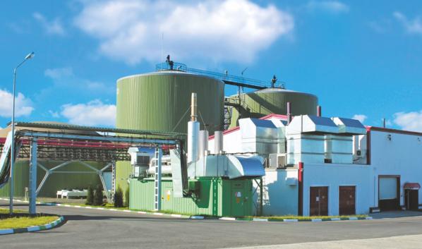 Биогазовая станция.