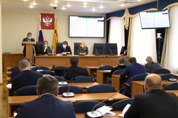 Заседание комиссий Воронежской городской Думы.