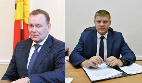 Юрий Бавыкин и Виталий Поздняков.