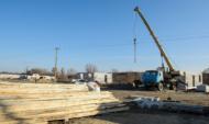 Строительство домов в Николаевке идет по графику.