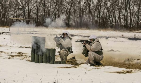 Практические стрельбы гранатометчиков.