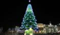 Новогодняя ёлка на площади Ленина в 2020-2021 году.