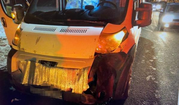 Авария случилась на улице Новосибирской.