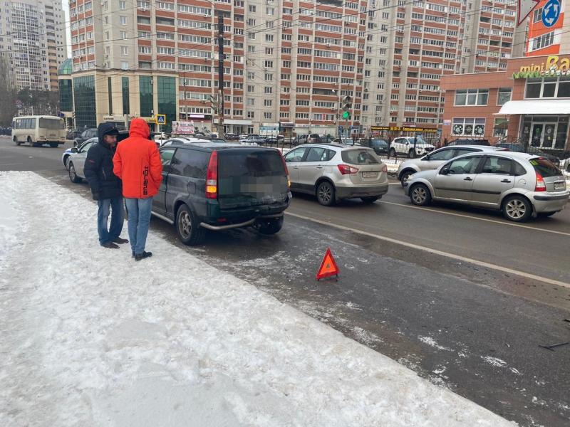 ДТП на бульваре Победы.