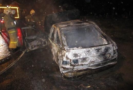 Пожар случился в Левобережном районе.