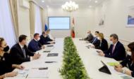 Встреча Наталии Цайтлер и Романа Старовойта.